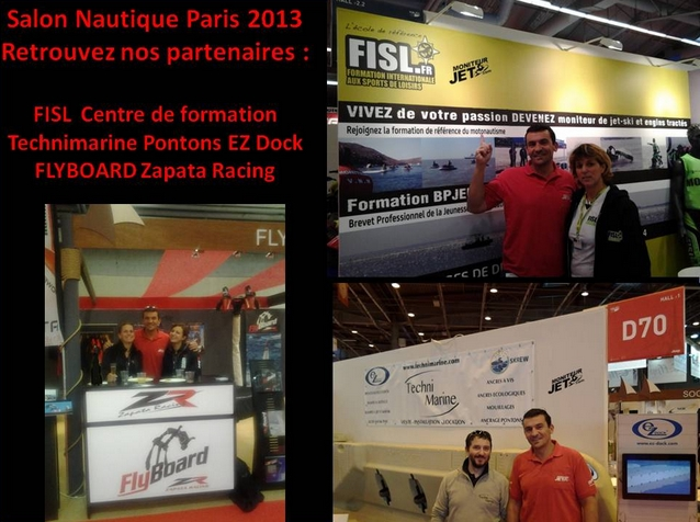 Salon nautique paris 2013 nos partenaires flyboard for Salon nautisme paris